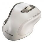 Мышь беспроводная лазерная USB Hama Mirano белая, 800/1600dpi, H-53878