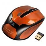 Мышь беспроводная оптическая USB Hama Milano пылающий янтарь, 800/1600dpi, H-52390