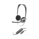 Гарнитура стерео Plantronics A478, 20Гц-20кГц, черная, 81962-25