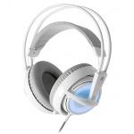 Гарнитура игровая Steelseries Siberia v2 Frost Blue бело-голубая, 50 Гц-16 кГц