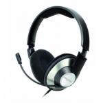 Гарнитура проводная Creative ChatMax HS620, 20 Гц-20 кГц, черно-серая