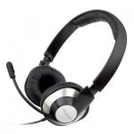 Гарнитура игровая Creative ChatMax HS720 черно-серебряная, 20Гц-20кГц