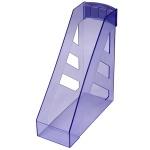 Накопитель вертикальный для бумаг Стамм Ультра А4, 100мм, голубой, ЛТ05