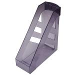 Накопитель вертикальный для бумаг Стамм Ультра А4, 100мм, серый, ЛТ06