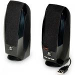 Колонки компьютерные Logitech S150, 2х0.6 Вт, черные, 2.0
