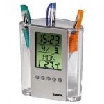 Термометр настольный Hama H-75299, серебристый