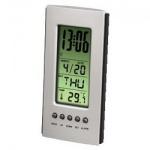 Термометр настольный Hama H-75298 черно-серебристый