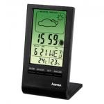 Термометр-гигрометр Hama TH-100 черный