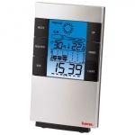 Термометр настольный Hama TH-200 H-87682, серебристый-черный