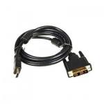 Кабель соединительный DVI-D-HDMI Buro (m-m) 3 м, позолоченные контакты