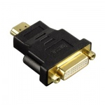 ������� Hama HDMI-DVI-D 24+1-pin (m-f) ������, H-34036