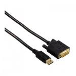 Кабель соединительный DisplayPort DVI Hama DisplayPort DVI (m-m) 1.8 м, черный, H-54593