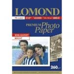 Фотобумага для струйных принтеров Lomond А6, 260г/м2, полуглянцевая, 500 листов, 1103303