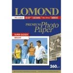 Фотобумага для струйных принтеров Lomond А6, 260г/м2, суперглянцевая, 500 листов, 1103105, 500л