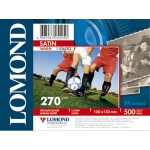 Фотобумага для струйных принтеров Lomond Satin Warm А6, 500 листов, 270 г/м2, 1106202