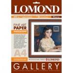 Бумага Lomond Velour для струйной печати, А4, матовая, бархатистая, 265г/м2, 10 листов