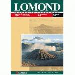 Фотобумага для струйных принтеров Lomond А4, 230г/м2, глянцевая, 230г/м2 25листов