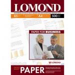 Фотобумага для струйных принтеров Lomond А4, 500 листов, 85 г/м2, матовая, двусторонняя, 102134