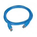 Кабель USB 3.0 Buro A-B (m-m) 1.8 м, синий