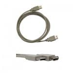 Кабель удлинительный USB 2.0 Buro A-A (m-f) 3 м, белый
