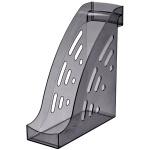 Накопитель вертикальный для бумаг Стамм Торнадо А4, 95мм, серый, ЛТ403