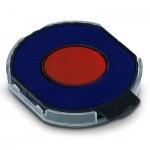 Сменная подушка круглая Trodat для Trodat 5215/5415, синяя-красная, 6/15/R2