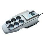 Сетевой фильтр Pilot Zis X-Pro 6 розеток, 5м, серебристый