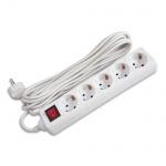 Удлинитель электрический Buro BU-PS5.3/W 5 розеток, белый