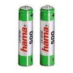 Аккумулятор Hama Universal AAA/HR03, 2шт/уп, 500mAh