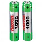 Аккумулятор Hama AAA/HR03, 1000mAh, 2шт/уп