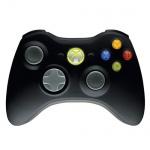 Геймпад беспроводной Xbox 360 для Windows Microsoft, черный