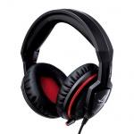 Гарнитура игровая Asus Orion черно-красная, 20 Гц-20 кГц