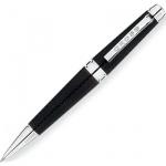 Ручка-роллер Cross C-Series Metallic Carbone Black, М, черная, корпус латунь и хром, AT0395-3
