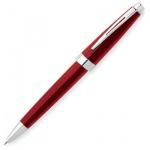Ручка шариковая Cross Aventura AT0152-3, М, черная, корпус пластик и хром, Красный лак