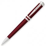 Ручка шариковая Franklin Covey Freemont 0.9мм, черный корпус, красный корпус, упаковка b2b