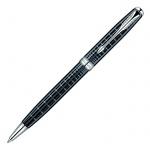 Ручка шариковая Parker Sonnet K531 М, черная, серый/серебристый корпус
