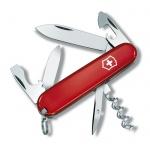 Нож перочинный 84мм Victorinox Tourist 0.3603, 12 функций, 2 уровня, красный