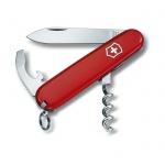 Нож перочинный 84мм Victorinox Waiter 0.3303, 9 функций, 1 уровень, красный