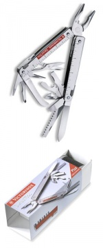 Мультитул Victorinox SwissTool RS 115мм, 27 функций, в нейлоновом чехле
