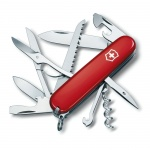 Нож офицерский 91мм Victorinox Huntsman 1.3713, 15 функций, 4 уровня, красный
