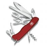 Нож солдатский 111мм Victorinox Hercules 0.9043, 18 функций, 5 уровней, красный, с фиксатором