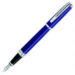 Ручка перьевая Waterman Exception Slim F, синий корпус