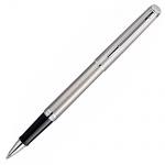 Ручка-роллер Waterman Hemisphere F, черная, стальной корпус