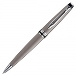 Ручка шариковая Waterman Expert 3 М, синяя, серый корпус