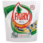 Капсулы для ПММ Fairy All in 1 65шт, 65шт
