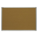 Доска пробковая 2x3 TCA 1218 120х180см, коричневая, алюминиевая рама