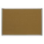 Доска пробковая 2x3 TCA 129 120х90см, коричневая, алюминиевая рама