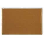 Доска пробковая 2x3 TC 1510 100х150см, коричневая, деревянная рама