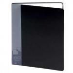 Папка файловая Бюрократ, А4, на 80 файлов, черная