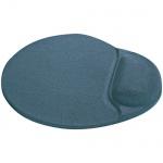 Коврик для мыши Buro серый, с гелевой подкладкой
